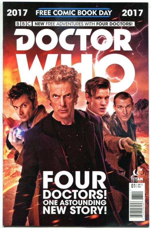 DOCTOR WHO, NM, FCBD, 10th, 11th, 12th Drs, Tardis, 2017, Titan,more DW in store
