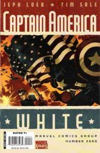 Captain America: White (2008 series) #0, NM (Stock photo)