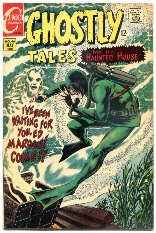 GHOSTLY TALES #66, FN+, Exorcism, Horror, 1966 1968, more Charlton in store