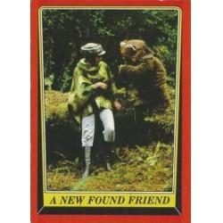 1983 Topps RETURN OF THE JEDI - A NEW FOUND FRIEND #72