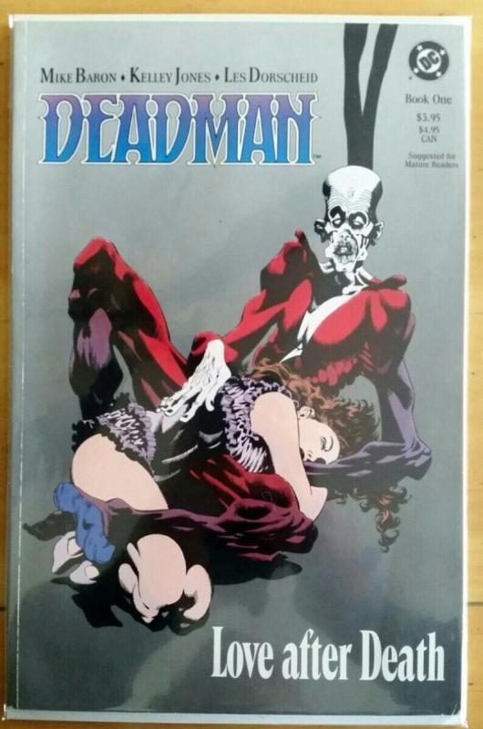 DEADMAN #1, NM, Love and Death, Kelley Jones, DC, 1989, more in store