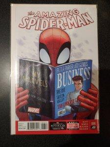 THE AMAZING SPIDER-MAN #6 (2014) DAN SLOTT! HUMBERTO RAMOS ART!