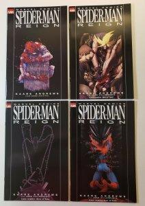 Spider-man Reign #1-4 Complete Set Marvel Comics 2007 VF/NM
