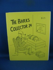 BARKS COLLECTOR FANZINE 24 VF NM 1982
