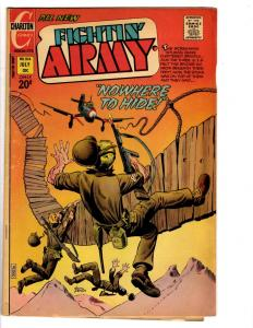 3 Fightin' Army Charlton Comic Books # 104 105 106 War Comics World War II J129