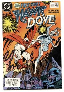 Hawk and The Dove #1 1989-DC-comic book-first issue