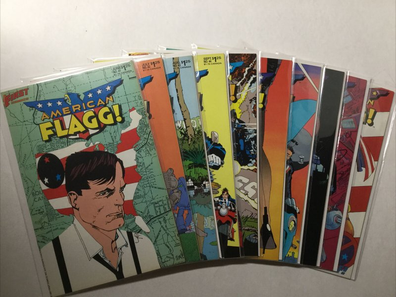 American Flagg 1-36 38-50 1-12 Special 1 Nm- Near Mint- 9.2 First Comics
