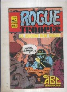 Rogue Trooper numero 3: El asesino debe pagar (numerado 2 en trasera)