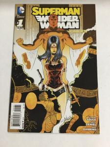 Superman Wonder Woman 1 Variant Nm Near Mint DC Comics