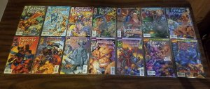 Fantastic Four v2 1-13 + Variant Complete Set Run ~ NEAR MINT NM ~ 1996 Marvel