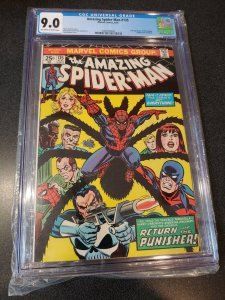 ​AMAZING SPIDER-MAN #135 CGC 9.0 2ND APPEARANCE OF THE PUNISHER