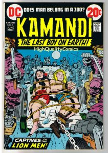 KAMANDI #6, VF, Jack Kirby, Last Boy on Earth, 1972, more JK in store
