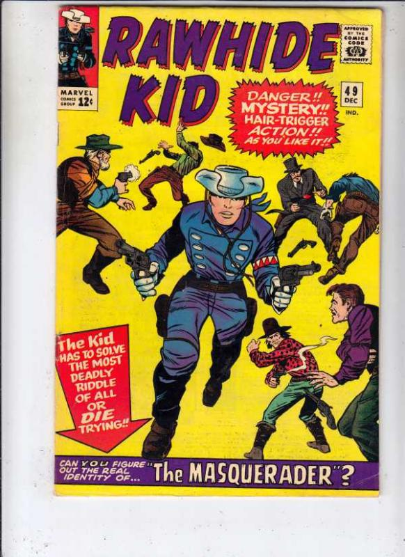 Rawhide Kid #49 (Dec-65) FN/VF- High-Grade Rawhide Kid