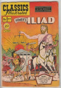 Classics Illustrated #77 (Jan-62) GD/VG Affordable-Grade Paris and Hellen Of ...