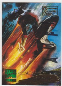1995 Marvel Masterpieces Emotion Signature Series #137 Nightcrawler/Devries