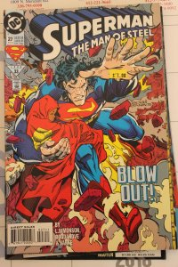 Superman the Man of Steel 27 NM