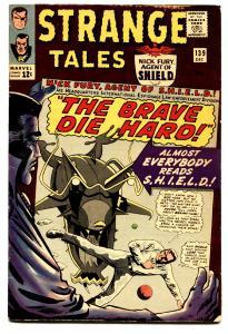 STRANGE TALES #139 comic book JACK KIRBY-NICK FURY-SILVER AGE-MARVEL FN