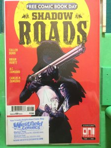 Shadow Roads #1 Free Comic Book Day issue