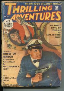 THRILLING ADVENTURES 067/1935-THRILLING-TORTURE-TERROR-ORIENTAL VILLAIN-good