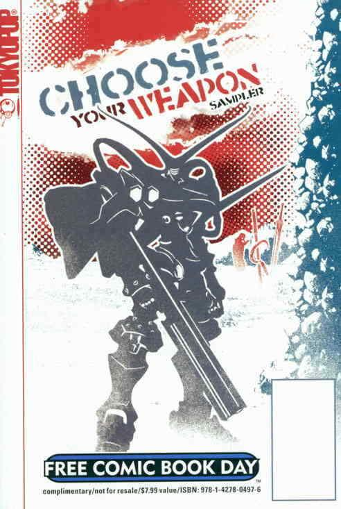 Choose Your Weapon FCBD #1 VF/NM; Tokyopop | save on shipping - details inside