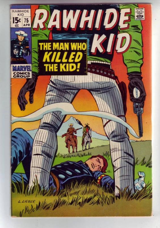 Rawhide Kid #75 (Apr-70) VF+ High-Grade Rawhide Kid