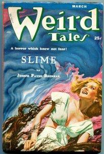 Weird Tales Pulp March 1953- Virgil Finlay- Joseph Payne Brennan