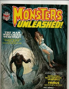 Lot Of 5 Monsters Unleashed Marvel Comic Book Magazines # 1 2 3 4 6 VF Range RS3
