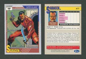 1991 Marvel Comics II  Card  #77 ( Saracen )  MINT