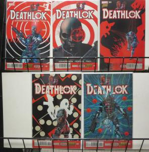 Deathlok (Marvel v5 2014) #1-4, 6 Cyborg Assassin Mercenary Father