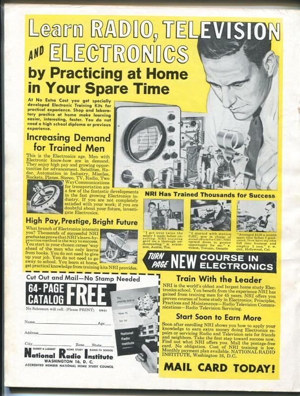 Male 12/1960-Atlas-Strange Fraulein Cult-cheesecake-Pollen-Cohen-Popp-FN/VF