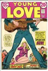 YOUNG LOVE #103-GREAT ISSUE-DC ROMANCE-ROCK N ROLL CVR FN