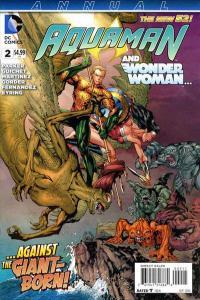 Aquaman (2011 series) Annual #2, NM (Stock photo)