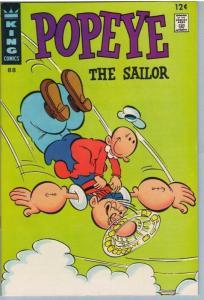 Popeye 88 Aug 1967 NM- (9.2)