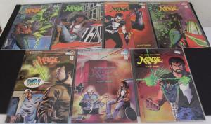 Comico LOT of 7- The Hero Discovered #1,2,3,11,12,13,&14,  F/VF(SIC624)