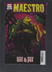Maestro War And Pax #4 Variant