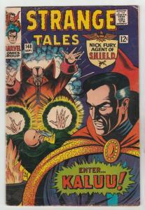 Strange Tales #148 (Sep-66) VG/FN Mid-Grade Nick Fury, Dr. Strange