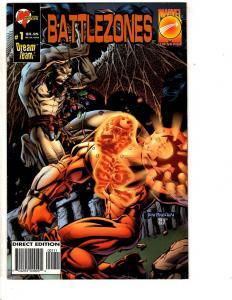 5 Comics Battlezones 1 Mutants Ultras 1 Violent Messiahs 1 Deity 2 Image 1 J310