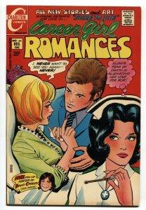 Career Gil Romance #66 1971-Charlton-Nurse-David Cassidy pin-up VF/NM