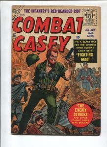 COMBAT CASEY #29 1956-ATLAS-JOE MANEELY-VG/FN