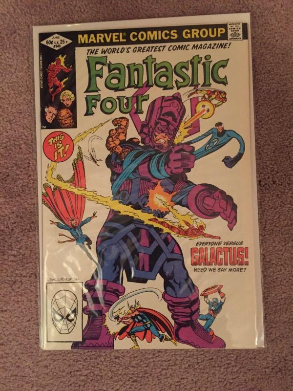 High Grade Fantastic Four Lot. Silver Age, Bronze Age Comics.