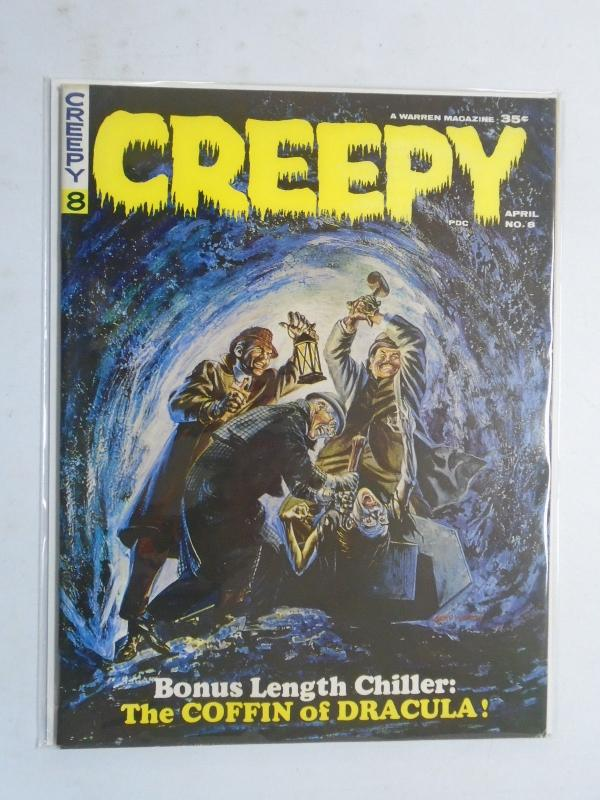 Creepy (Magazine) #8, 8.0? (1966) Stories in This Issue Include