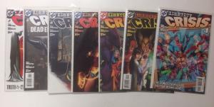 Identity Crisis 1-7 Complete Near Mint Lot Set Run Variant #1
