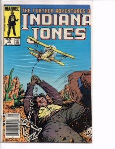 Marvel Comics Further Adventures of Indiana Jones #13 Bret Blevins Cover