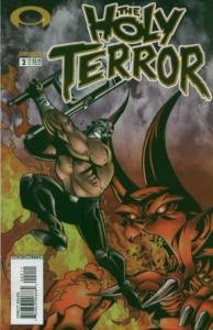 Holy Terror #2, NM + (Stock photo)