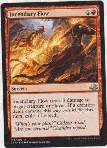 Magic the Gathering: Eldritch Moon - Incendiary Flow