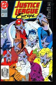 Justice League Europe #26 (1991)