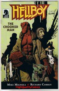 HELLBOY - CROOKED MAN #1, VF/NM, Richard Corben, Mike Mignola, 2008