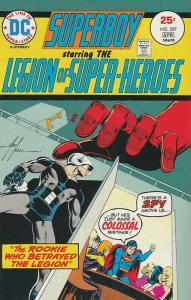 Superboy (1st Series) #207 FN; DC | save on shipping - details inside