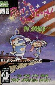 REN & STIMPY SHOW #5,NM+, TV Cartoon, Bill Wray, CrocoMen, more in store