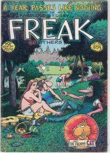 Fabulous Furry Freak Brothers #3 (Jan-80) FN High-Grade The Freak Brothers (P...